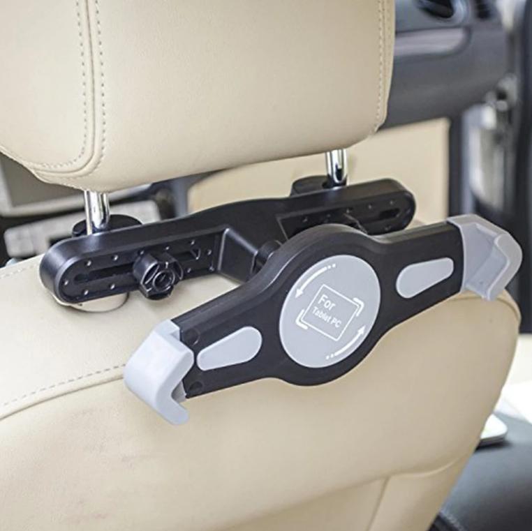 Автомобильный держатель холдер Primo VCP-006 для планшета на подголовник - Black