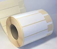 Этикетка ювелирная самоклеящаяся бумажная 100х25 мм (1250 штук)