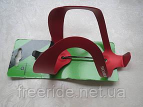 Флягодержатель Rockbros (красный) подфляжник алюминиевый, фото 3