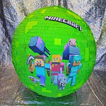 Велика VIP Піньята ПРЕМІУМ Якості. MineCraft МайнКрафт. Є розміри.