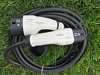 Зарядный кабель Nissan Leaf KHONE Type 2 to type 2 EV Cable--32 A 1phase, фото 1
