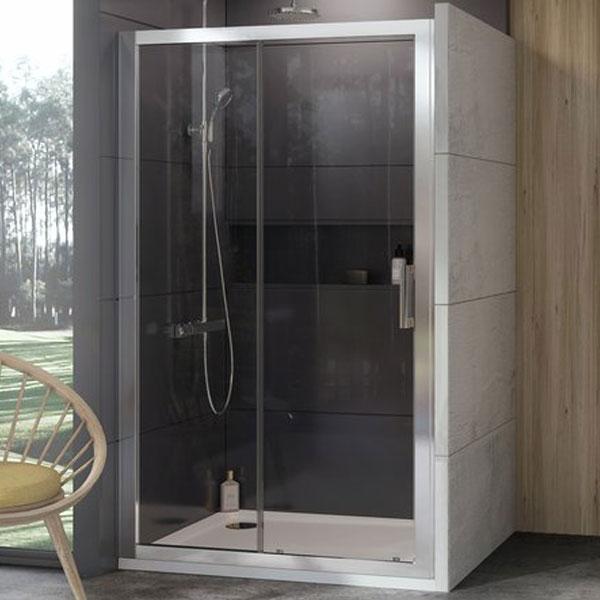 Душевые двери Ravak Душевые двери Ravak 10` 110 см 10DP2-110 полированный алюминий+transparent (0ZVD0C00Z1)