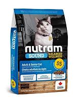 Корм холистик Nutram Sound Balanced Wellness Adult Urinary 5.4 кг для взрослых кошек всех пород