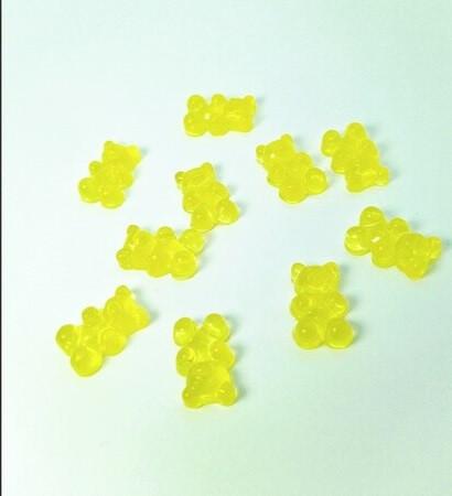 Шарм «Желтый мишка» для слаймов (50539)