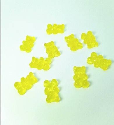 Шарм «Желтый мишка» для слаймов (50539), фото 2