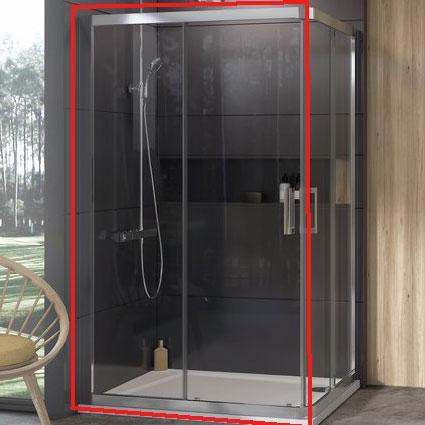 Душевые кабины Ravak Душевой уголок Ravak 10` 110 см 10RV2K-110 полированный алюминий+transparent (1ZJD0C00Z1)