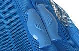 Сетка от комаров на дверь на магнитах Синяя, фото 3