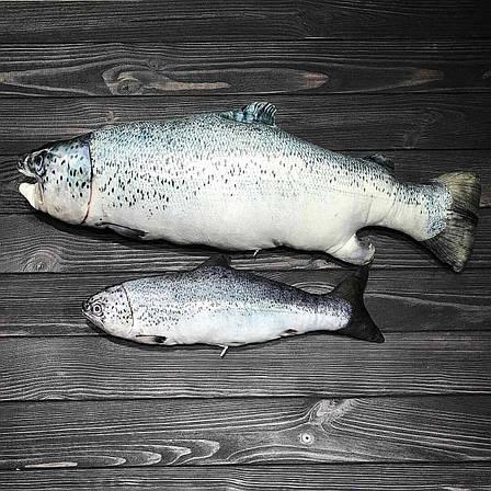 "Подушка-сувенир рыба ""Лосось"", фото 2"