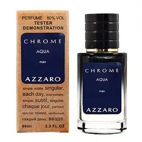 Azzaro Chrome Aqua - Selective Tester 60ml #B/E