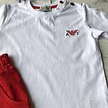 Летний костюм на мальчика в стиле Armani 35.  Размер 80 см, 92 см, 98 см, 104 см, фото 3
