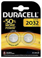 Батарейки Duracell CR2032 (DL2032) 2шт
