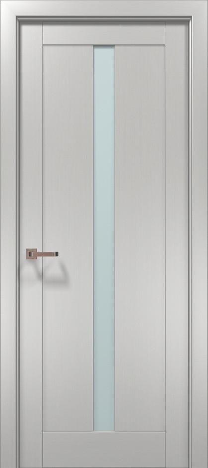 Межкомнатная дверь «Папа Карло» Optima-01 (застекленная)