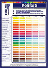 Пигмент для краски Ярко-желтый 10 Color-Mix Polifarb 120мл, (Колер-паста, колорант), фото 2