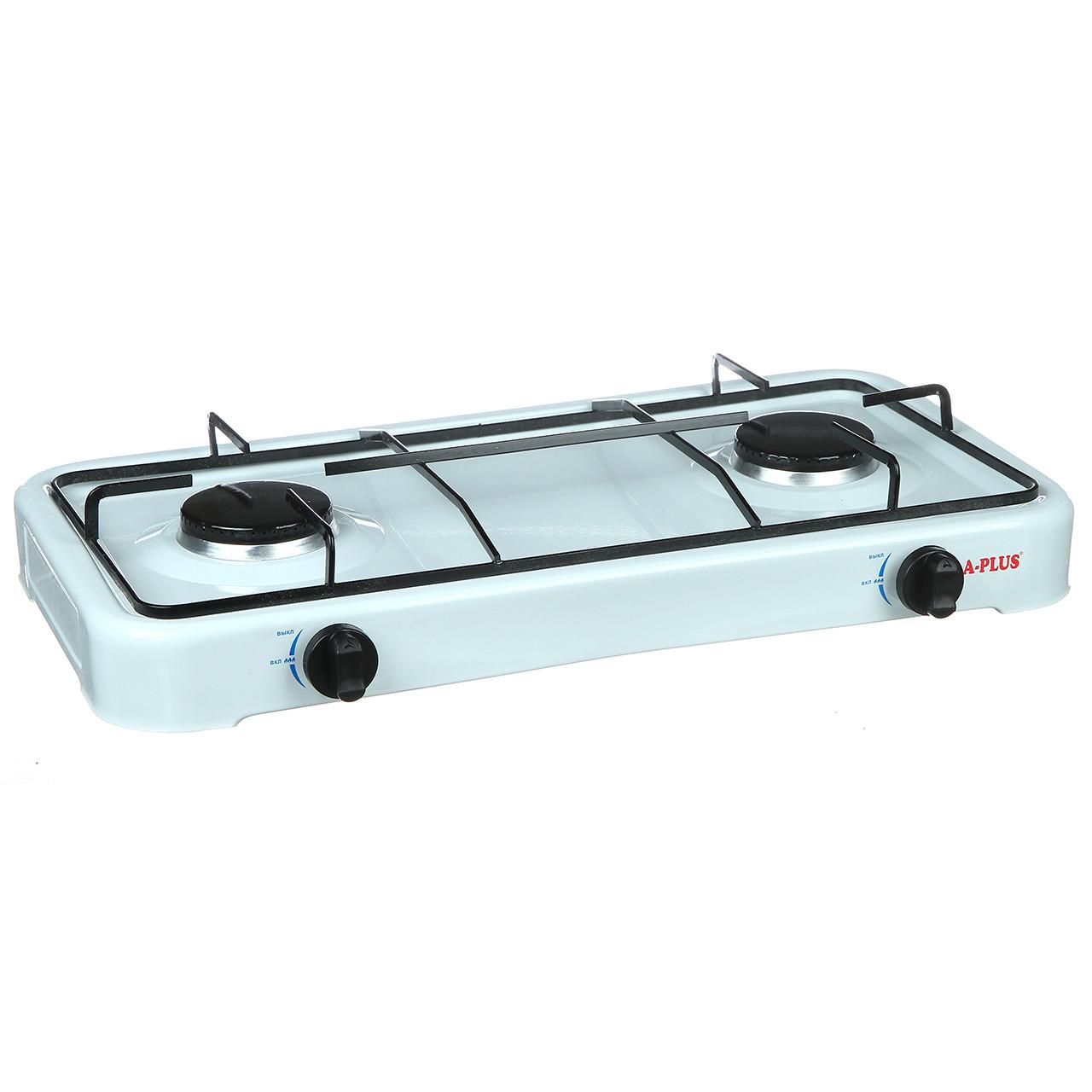 Газовая кухонная плита настольная A-PLUS 2 конфорки