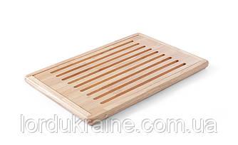 Доска разделочная для хлеба, деревянная Hendi 475x322х20 мм