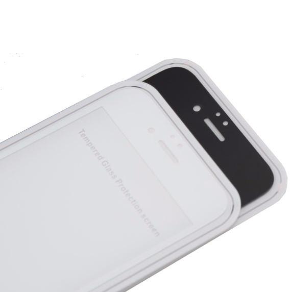 Защитное стекло  весь экран matt for Apple iPhone 6 Plus front (black)
