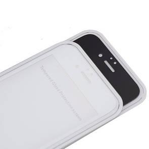 Защитное стекло  весь экран matt for Apple iPhone 7 Plus front (black)