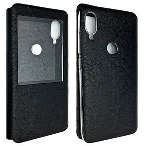 Чехол -книжка кожа Xiaomi Mi Play (black)