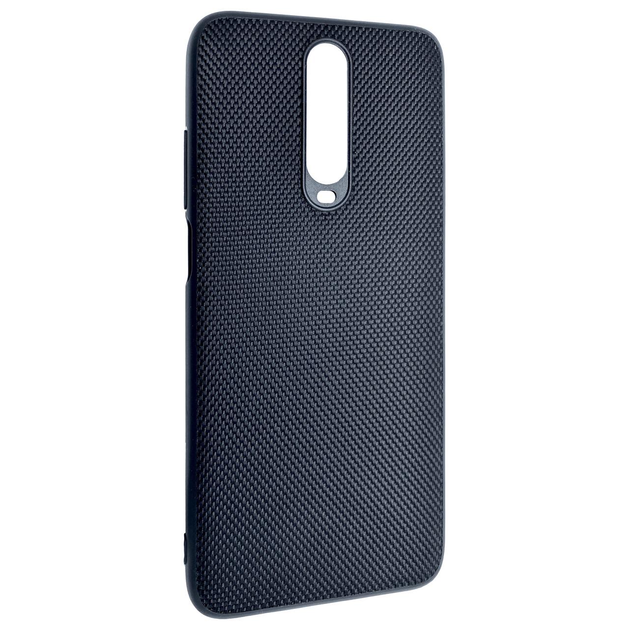 Чохол DK Nylon Silicone Case Xiaomi Mi 10T / Redmi K30 (black)