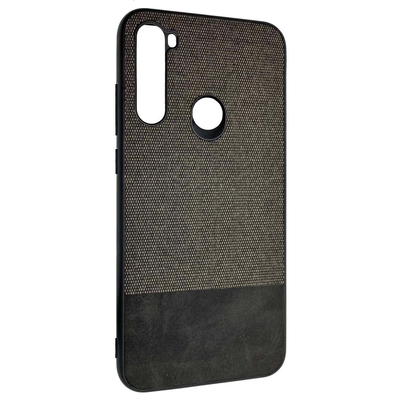 Чехол DK Silicone Form Fabric Cotton Xiaomi Redmi Note 8T (black)