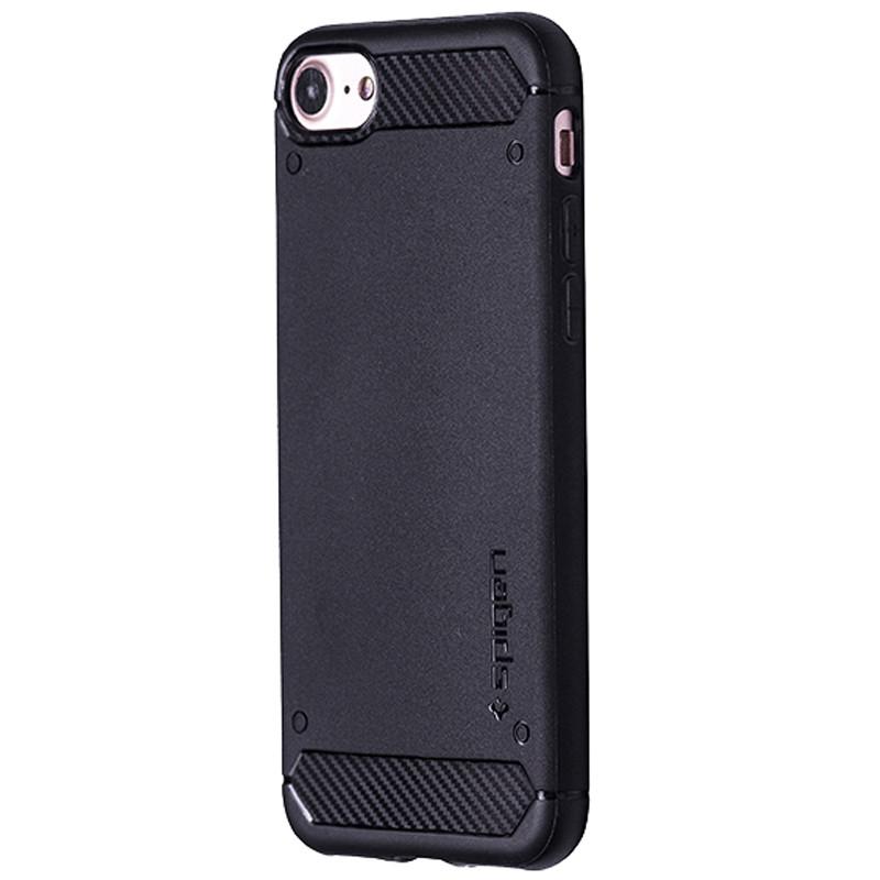 Чехол  SGP Spigen Carbon for Apple iPhone 7 (black)