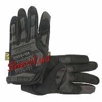 Перчатки тактические Mechanix Wear M-Pact FF Black