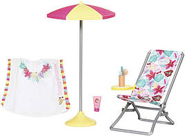 Набор Солнечные ванны куклы Беби Борн Baby Born Zapf Creation 829264