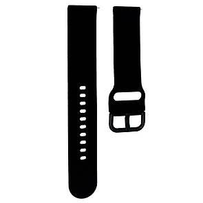 Ремешок DK Silicone Sport Band Samsung Watch (40/42/44) (R500/R810/R820/R830) 20mm (black)