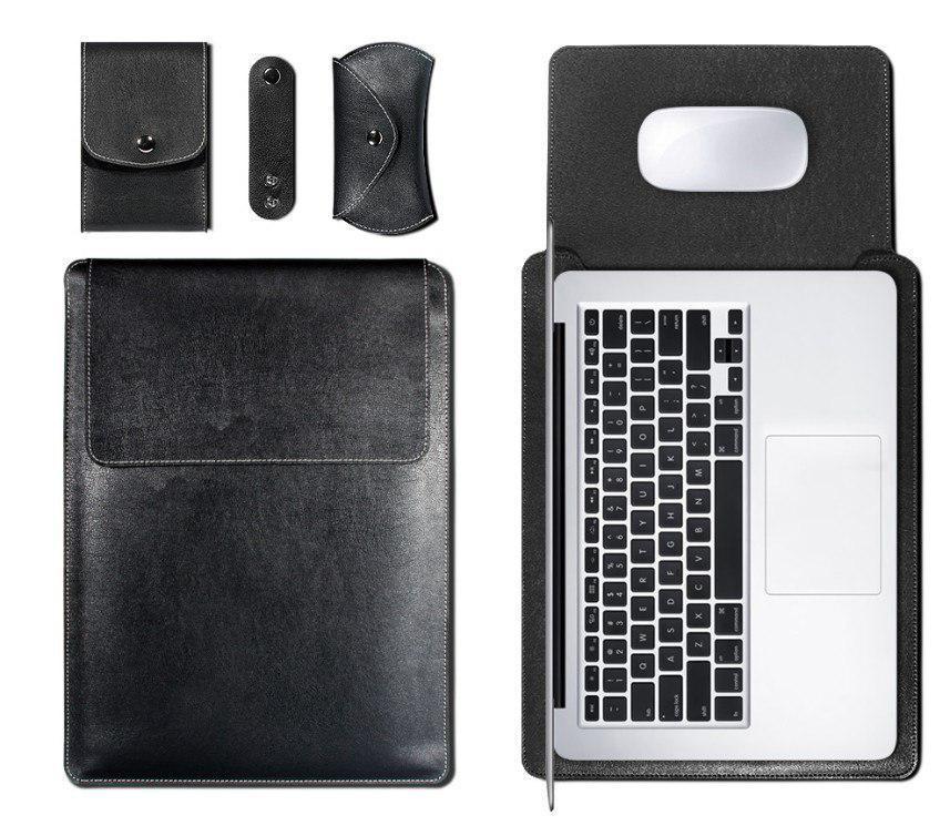 """Чехол DK Leather Envelope Kit 13"""" (black)"""