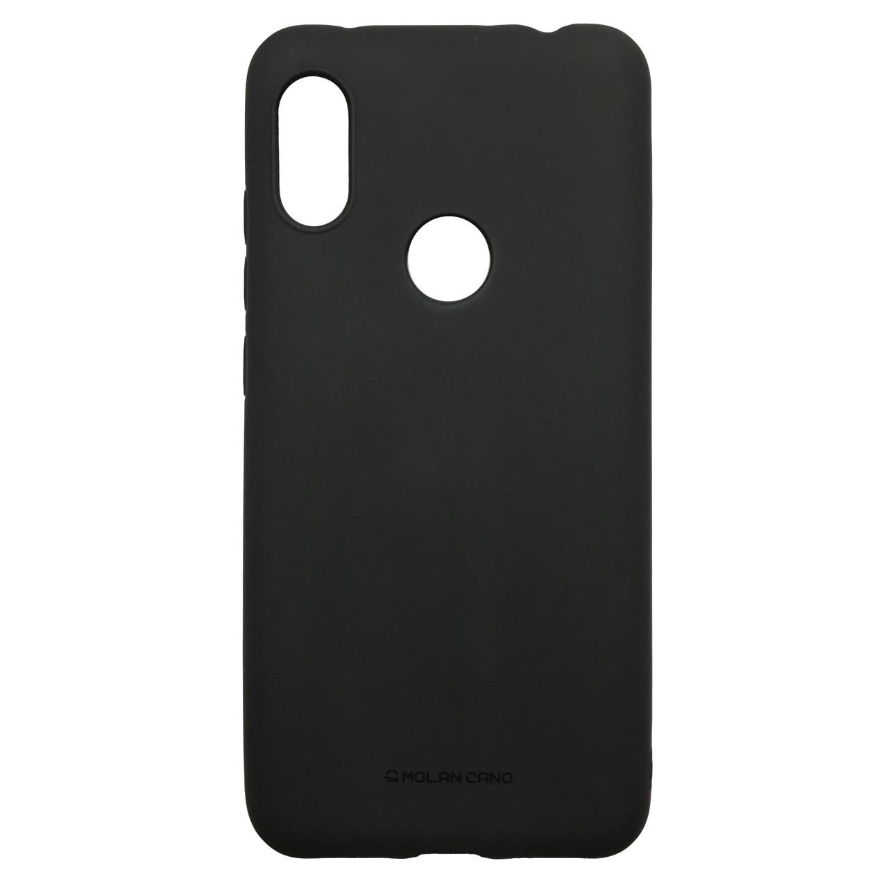 Чехол Hana Molan Cano Xiaomi Redmi Note 6 Pro (black)