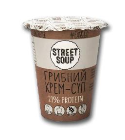 Крем-суп грибной STREET SOUP, 50 г (стакан)