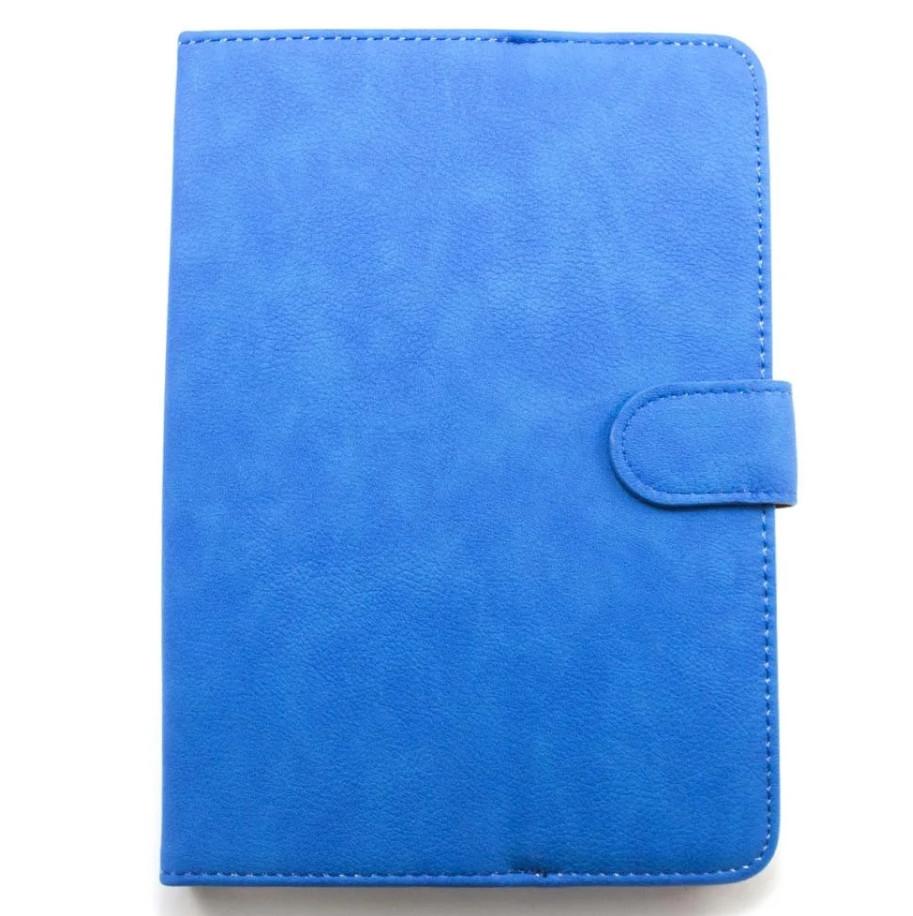 """Универсальный чехол для планшета 9-10 дюймов (9-10"""") с карманом синий"""