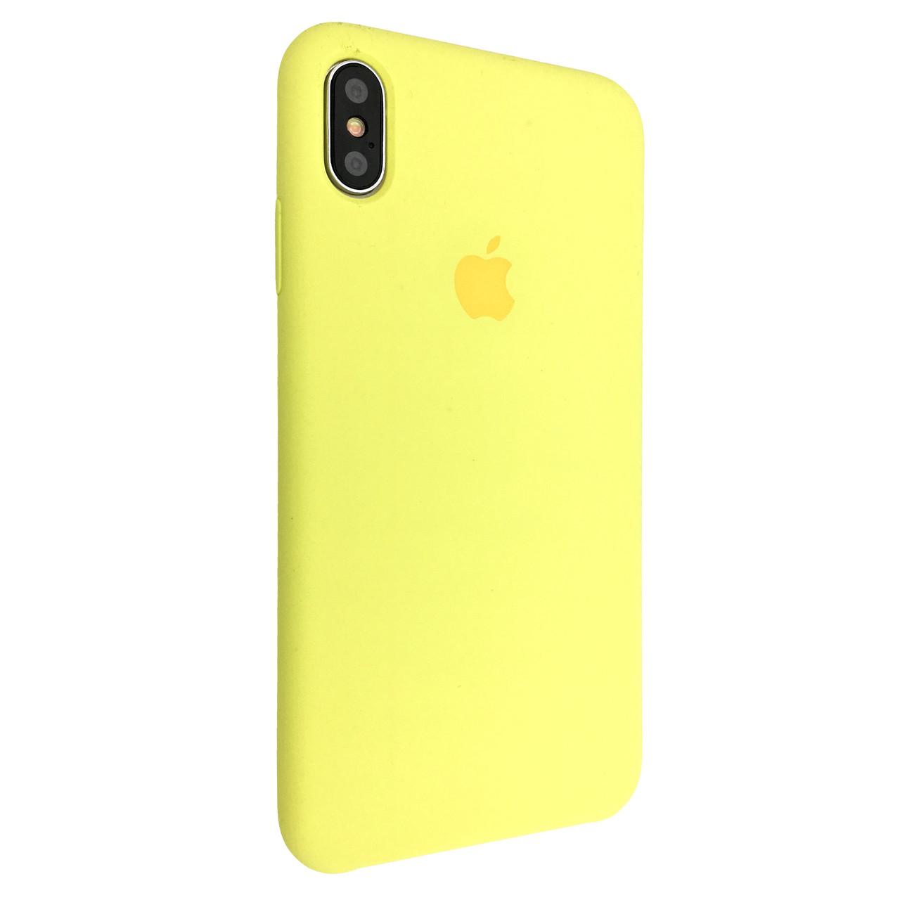 Чехол Silicone Case Apple iPhone XS (37)
