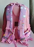 Рюкзак шкільний ортопедичний Dr. Kong, Z 1100035В, рожевий, розмір S, фото 7