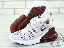Женские кроссовки Nike Air Max 270 Pink/Vintage Wine-White AH6789-601, фото 3
