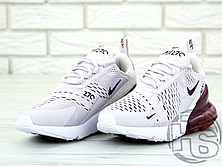 Женские кроссовки Nike Air Max 270 Pink/Vintage Wine-White AH6789-601, фото 2