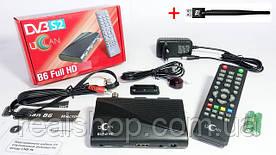 Комплект uClan (U2C) B6 HD ресивер + WI-FI адаптер  + бесплатная прошивка!