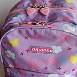Рюкзак шкільний ортопедичний Dr. Kong, Z 1100035В, рожевий, розмір S, фото 2