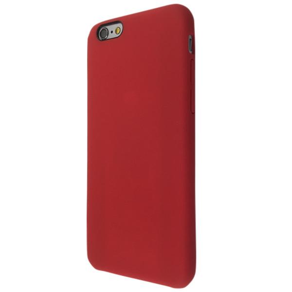 Чехол  софт-тач под оригинал for Apple iPhone 6 Plus (red)
