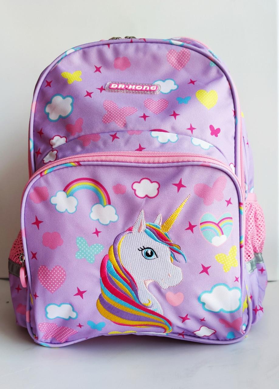 Рюкзак шкільний ортопедичний Dr. Kong, Z 1100035В, рожевий, розмір S