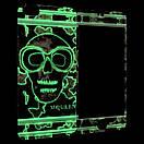 Захисне скло Apple iPhone 5/5S luminescent Mc Queen back/face (red), фото 2