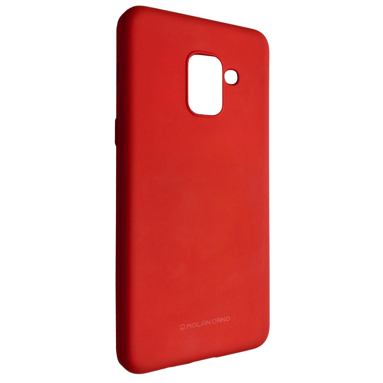 Чехол Hana Molan Cano Samsung A8 Plus (red)