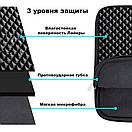 """Сумка Mosiso Nylon Fundo Cube Ноутбука 15"""" (black), фото 2"""