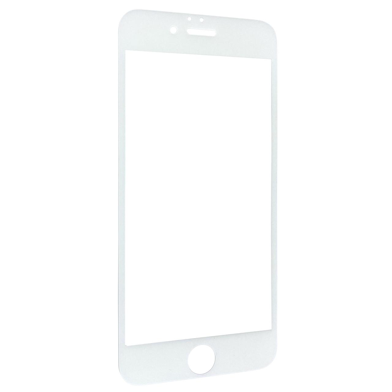 Защитное стекло  весь экран matt 2D for Apple iPhone 6/6S front (white)