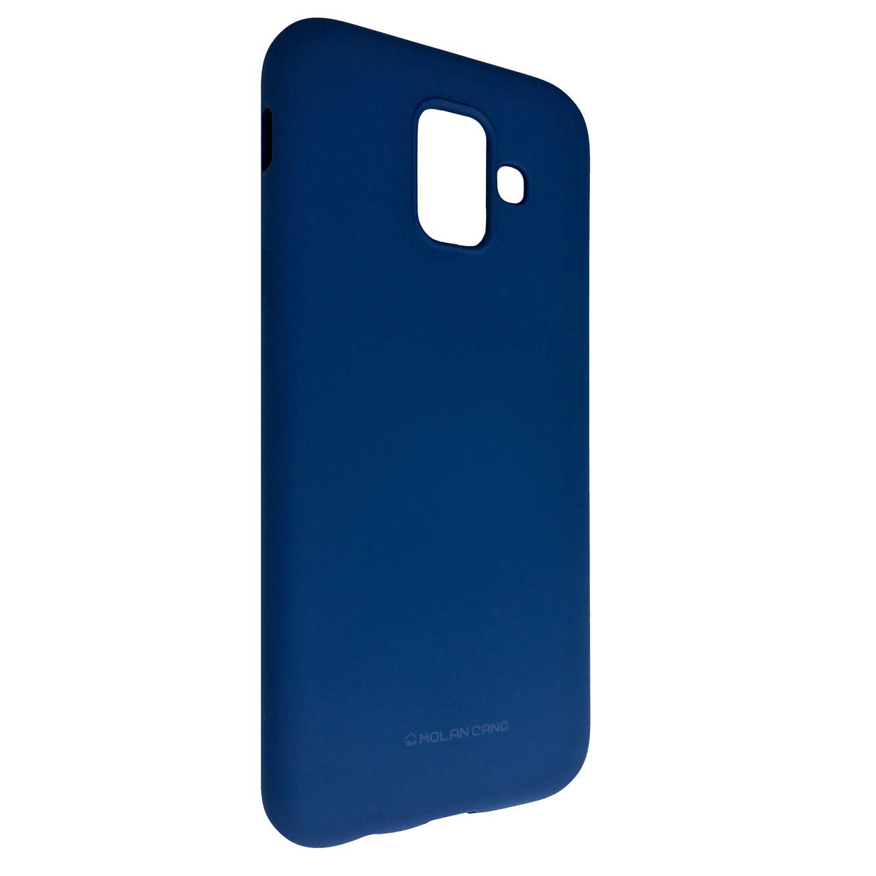 Чехол Hana Molan Cano Samsung A6 (2018) (blue)