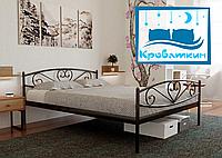 Металлическая кровать Milana-2 (Милана-2) 80х190см Метакам