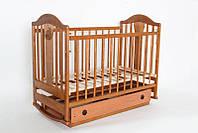 Детская кроватка «НАПОЛЕОН» с Ящиками ( Орех ), фото 1