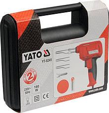 Паяльник електричний підсилювач 180 Вт YATO YT-8245, фото 2
