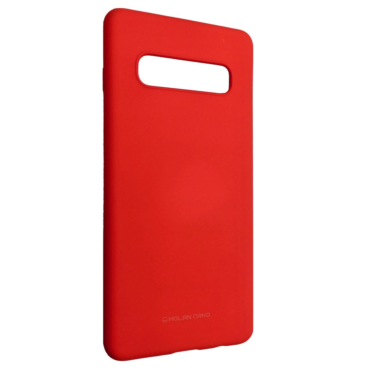 Чехол Hana Molan Cano Samsung S10+ (red)