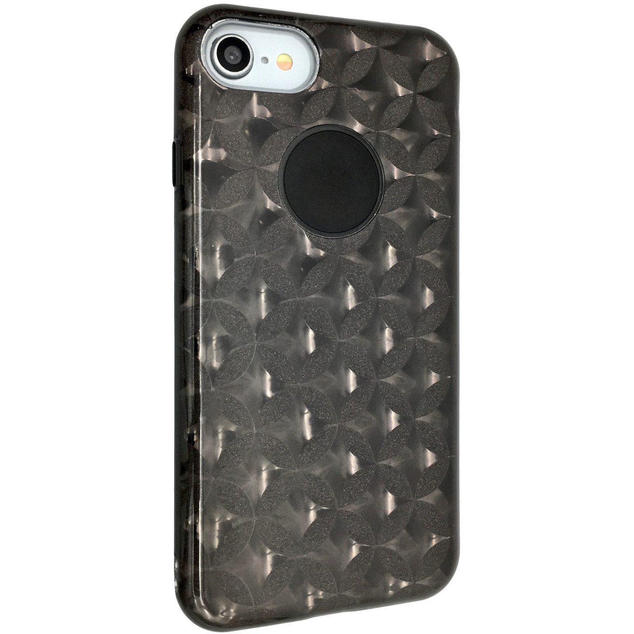 Чехол  райский дождик вставка Stars for Apple iPhone 7 (dark)
